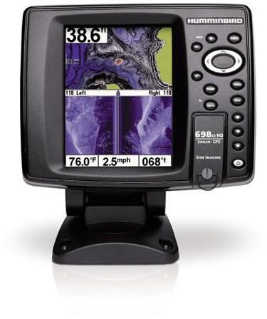 Humminbird 698ci HD SI Fishfinder/ GPS incl. transducer XNT-9-SI-180-T - 5 inch