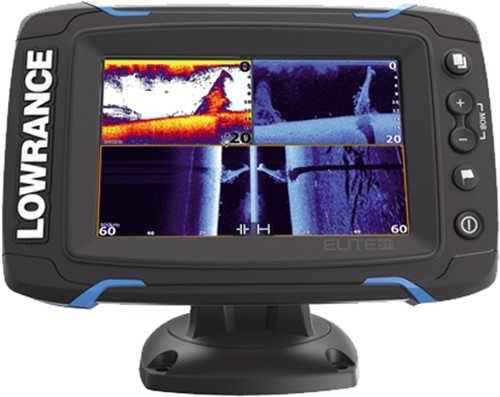 Lowrance Elite-5 Ti Fishfinder/ GPS - StructureScan® - TrackBack - Bluetooth