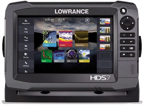 Lowrance HDS-7 GEN3 Fishfinder/ GPS - NMEA 0183 en NMEA 2000