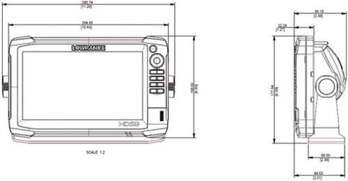 Lowrance HDS-9 GEN3 Fishfinder/ GPS - NMEA 0183 en NMEA 2000