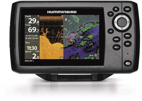 Humminbird Helix 5 CHIRPS DI GPS G2