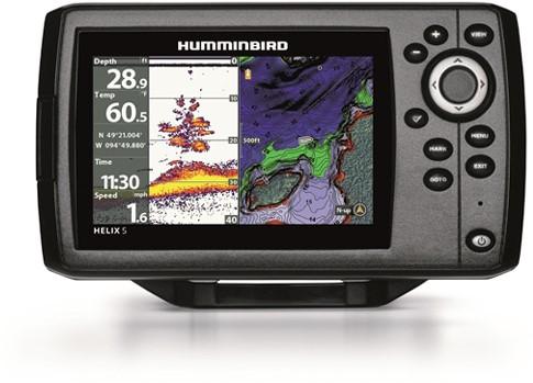 Humminbird HELIX 5 Fishfinder/ GPS incl. hektransducer XNT-9-20-T - CHIRP - G2