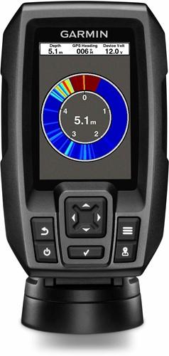 Garmin STRIKER 4, Fishfinder/ GPS incl. CHIRP (77/200 kHz) transducer (spiegel bev.)