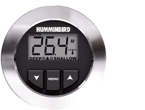 Humminbird HDR 650 Digitale dieptemeter - uitlezing tot 60 Kts. - inbouw gat 5,4cm