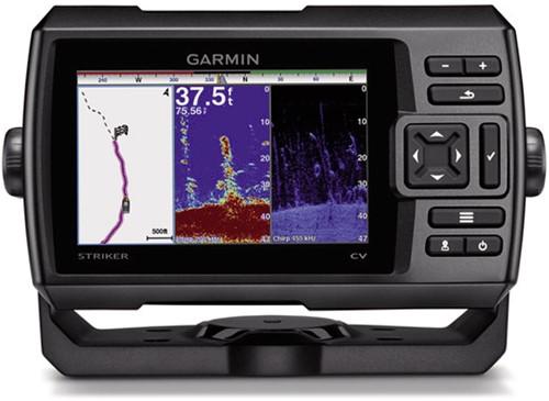 Garmin STRIKER™ 5dv, incl. CHIRP (77/200 kHz) transd. - GPS - ClearVü (455/800 kHz)