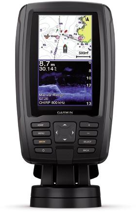Garmin ECHOMAP Plus 42cv zonder GT20-TM transducer - Heldere 4 inch - WW basis map