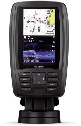Garmin ECHOMAP Plus 42cv met GT20-TM transducer - CHIRP - 150-240 kHz - 250W
