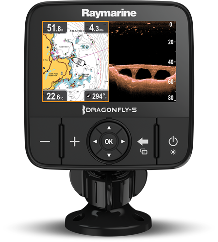 Dragonfly 5Pro fishfinder 5 (excl. kaart)