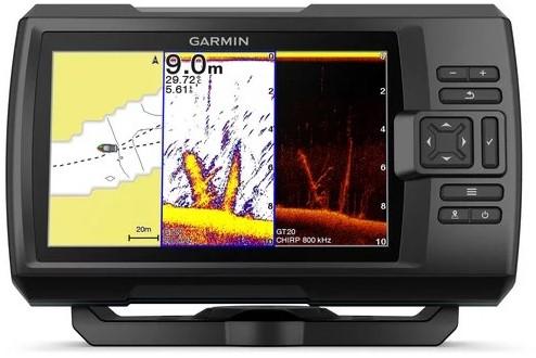 Garmin STRIKER Plus 7cv, Fishfinder/ GPS met GT20-TM transducer - ClearVü™ - SideVü™